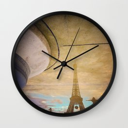 Eiffel Rendentor Wall Clock