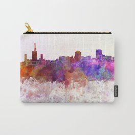 Lagos skyline in watercolor background Carry-All Pouch