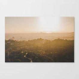Golden Hour - Los Angeles, California Canvas Print