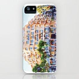 La Pedrera Barcelona iPhone Case