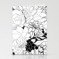 korean Stationery Cards featuring Korean Spring by Madame Mim