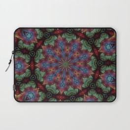 Scarab Lotus Mandala Laptop Sleeve