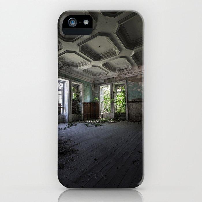 Abandoned manor iPhone Case