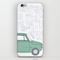 indie iPhone & iPod Skins featuring Indie by Tuylek