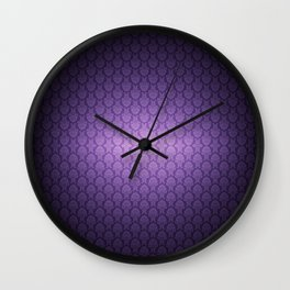 FANCY PURPLE :) Wall Clock