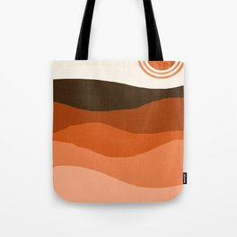 Choice - retro 70s style vibes sunset mountains desert ocean minimalist decor hipster 1970s Tote Bag