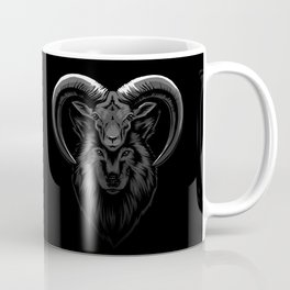 Wolf in sheep's clothes Coffee Mug