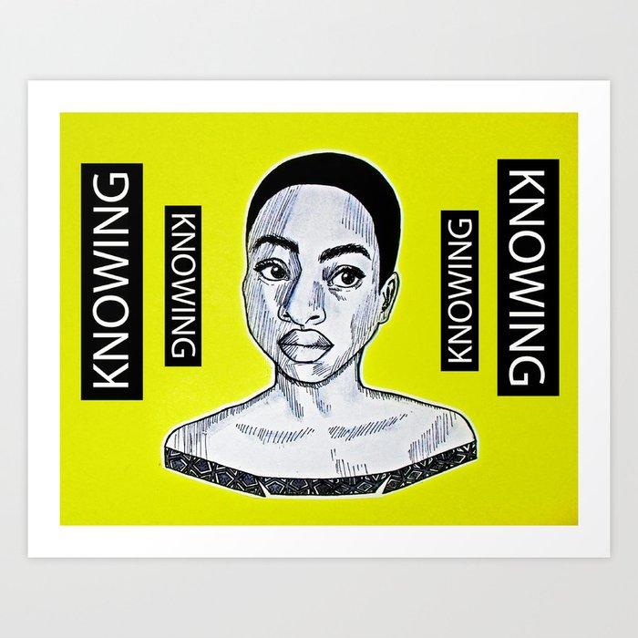 Knowing Art Print