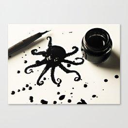 Awktopus Canvas Print
