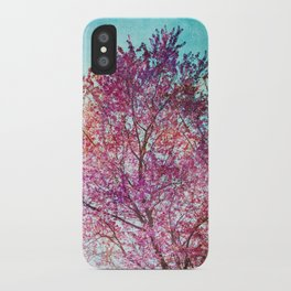 Spring Tree 3 iPhone Case