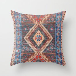 (N16) Boho Moroccan Oriental Artwork for Rustic and Farmhouse Styles. Throw Pillow