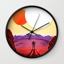 NASA/JPL Poster Kepler #1 Wall Clock