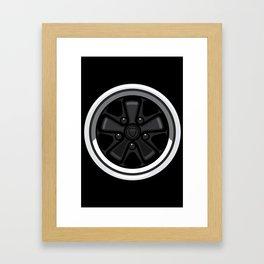 Wheel Design Retro Fuchs Felge Framed Art Print