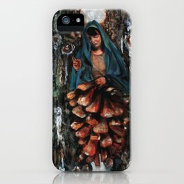 Apparition of the Virgin Mary iPhone Case