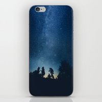 astronomy iPhone & iPod Skins featuring Follow the stars by HappyMelvin