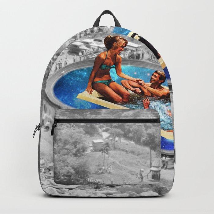 Vintage jacuzzi Backpack