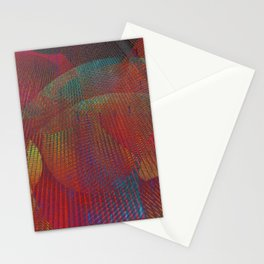 Colorful digital art Stationery Cards