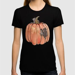 Baby Bats at the Pumpkin Patch T-shirt