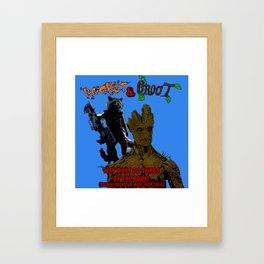 Nothing By the Book Framed Art Print