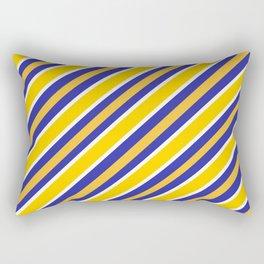 TEAM COLORS 1...NAVY,GOLD Rectangular Pillow