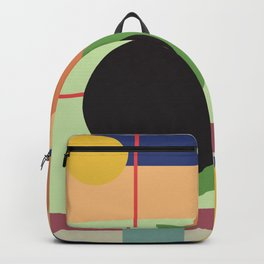 Abstract geometric composition study- Space Backpack