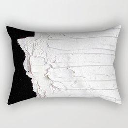 Black, White & White Rectangular Pillow