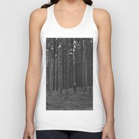 woods Tank Tops featuring Woods by Bird Heart