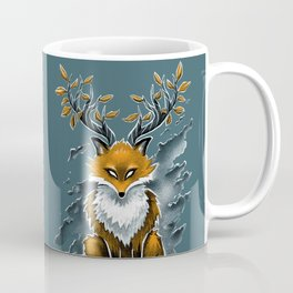 Deer Fox Coffee Mug