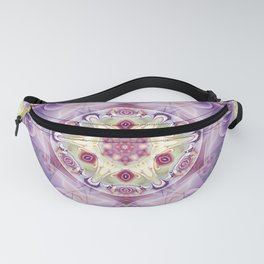 Mandalas from the Heart of Freedom 18 Fanny Pack