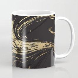 Marble Elegant Black and Gold Marble Texture Coffee Mug