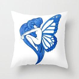Awaking Throw Pillow