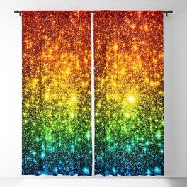 RainBoW Sparkle Stars Blackout Curtain