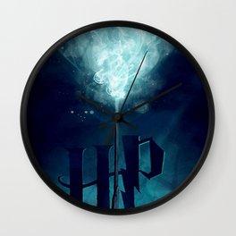 harry expecto patronum Wall Clock