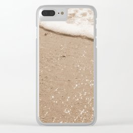 Summer's Glow Clear iPhone Case