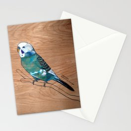 Budgerigar Stationery Cards