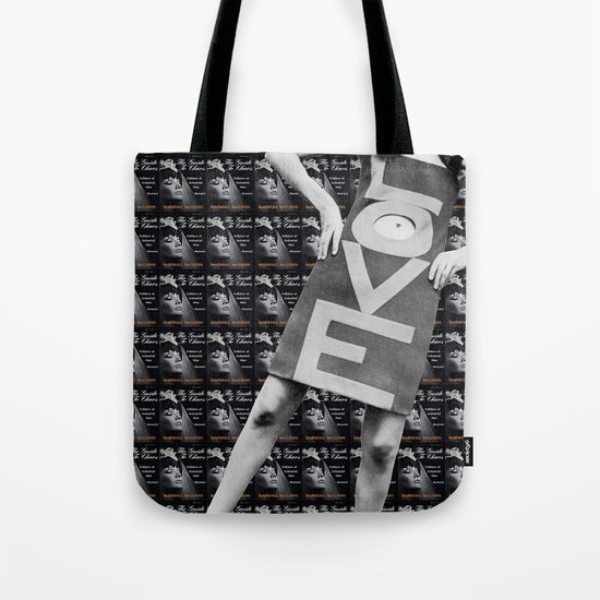 LOVE + CHAOS Tote Bag