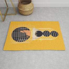 Abstract geometric art Rug