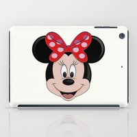 minnie mouse iPad Cases featuring Minnie Mouse by Yuliya L