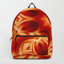 Fire Lotus Mandala Backpack