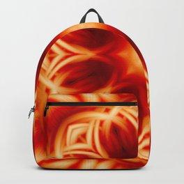 Fire Lotus Mandala Backpack