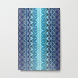 Aqueous Geometry Metal Print