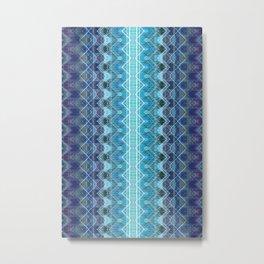 Aqueous Geometry Metal Print