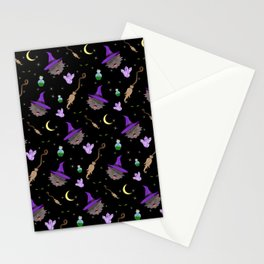 Kitty Witchcraft Stationery Cards