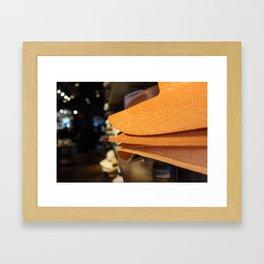 Hats Off Framed Art Print