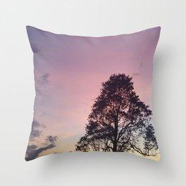 Pastel Sky #3 Throw Pillow
