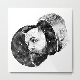 Amos - The Expanse Metal Print