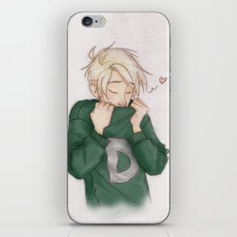 Draco - Weasley Sweater iPhone Skin