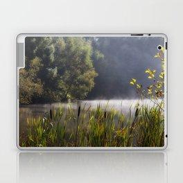 Autumn Mist at Mallards Pike Laptop & iPad Skin