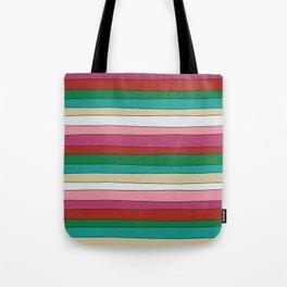 pattern funky stripes Tote Bag