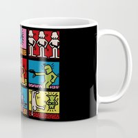 keith haring Mugs featuring Keith Haring & star W.2 by le.duc